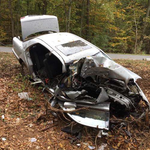 Verkehrsunfall L46 2018