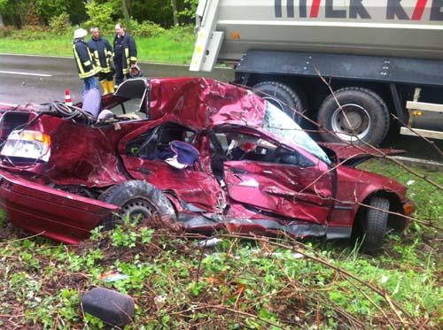 Verkehrsunfall L46 2013